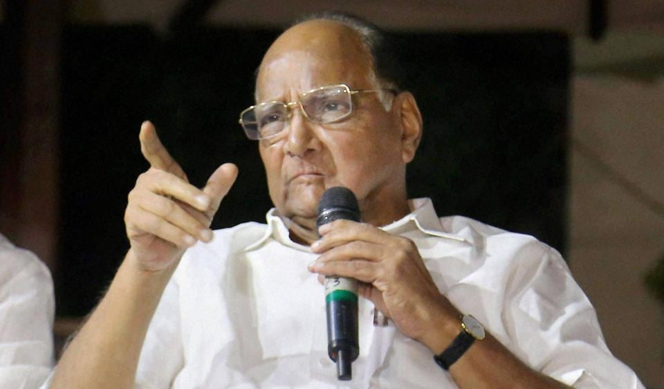 Nationalist Congress Party (NCP) chief Sharad Pawar.