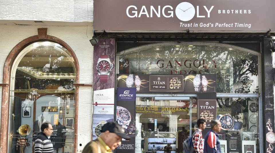 Gangoly, a watch company in Connaught Place, was robbed on January 30, 2017.