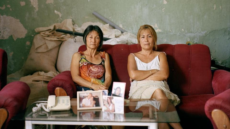 People Stories, first prize: Sisters Olga and Adelina Lim Hi, one of the few Korean descendants who do not have mixed heritage.Their grandfather was Im Cheon Taek, one of the leading figures of the earliest Korean community in Cuba. (Michael Vince Kim)