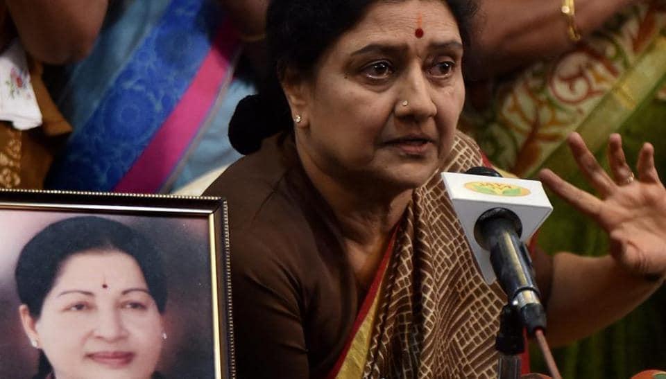 VK Sasikala,DA case against Sasikala,Tamil Nadu politics