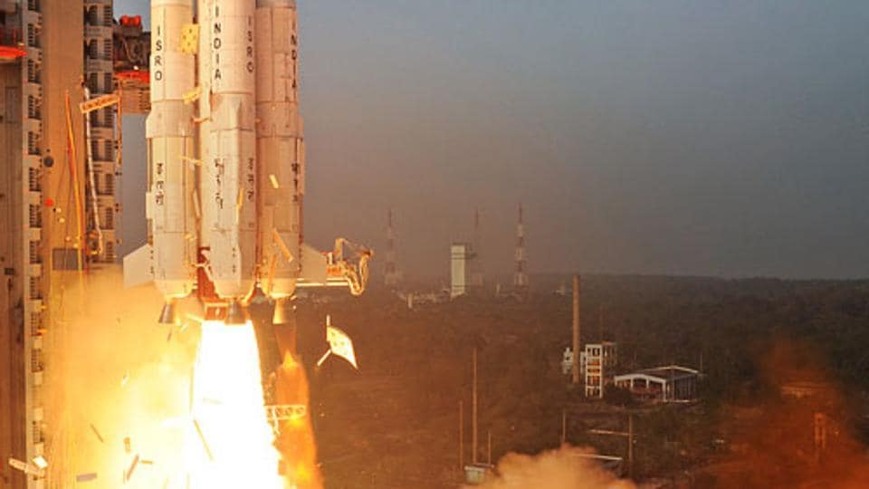 The propellant ignites to boost the rocket into space where 104 satellites were injected into the Polar Sun Synchronous Orbit. Of the 104 satellites, 101 were foreign satellites from six countries. (ISRO.gov.in)
