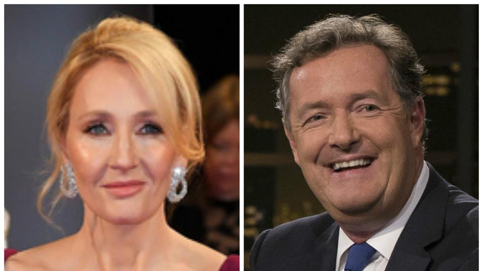 JK Rowling,Piers Morgan,JK Rowling Piers Morgan