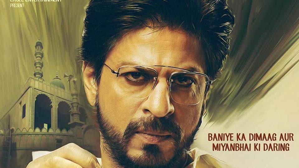 Shah Rukh Khan played a Gujarati bootlegger in Raees.