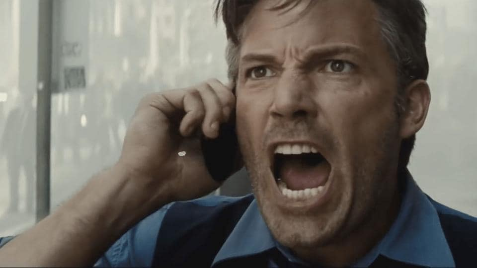 Affleck has played the Dark Knight twice - in 2016's Batman v Superman: Dawn of Justice