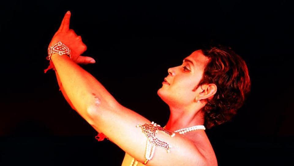 Kathak dancer Anuj Mishra.