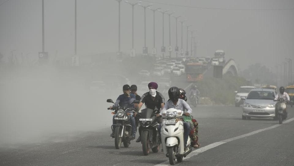According to a report, almost 1.1 million people died in India two years ago because of air pollution.