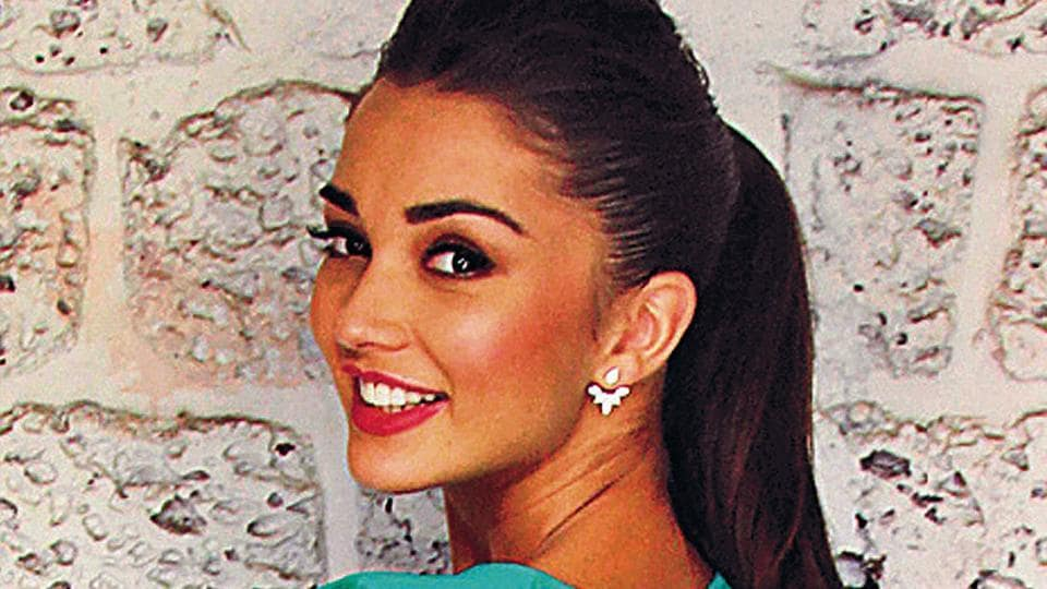 Amy Jackson plays the female lead in Shankar's 2.o starring Rajinikanth and Akshay Kumar.