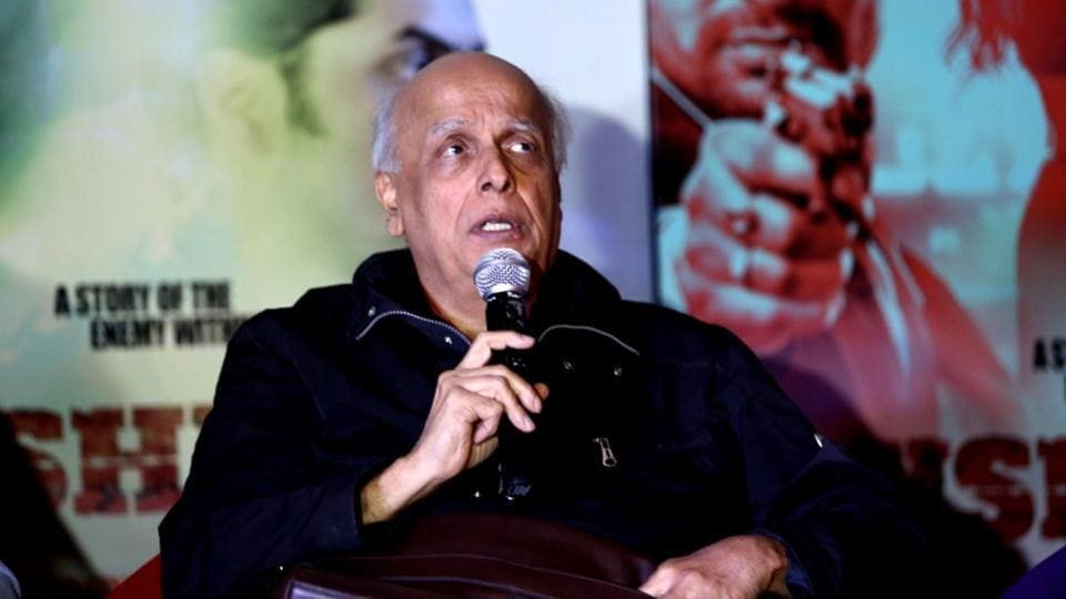 The film will take the audience through a variety of emotions and a high voltage action, Mahesh Bhatt said.