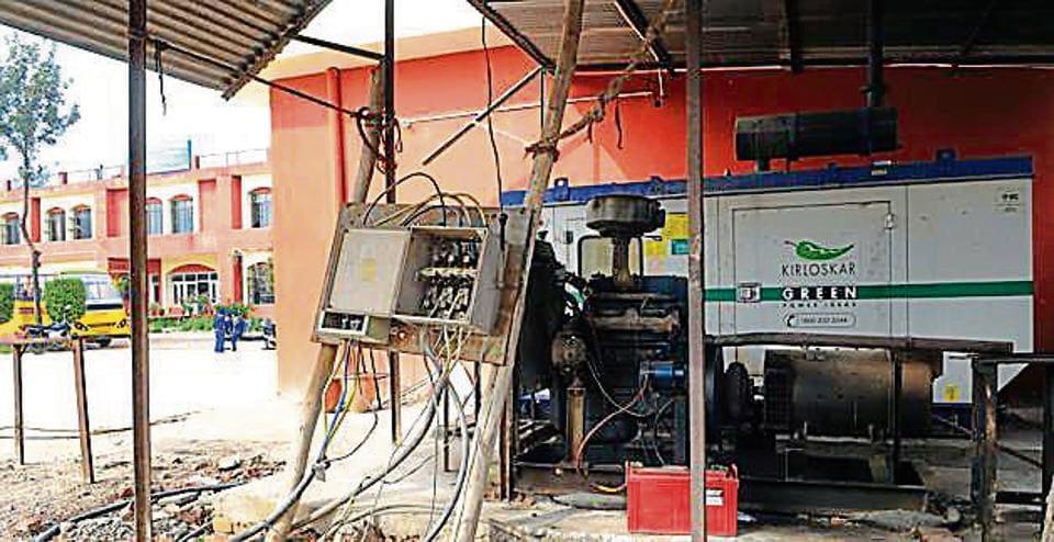Gurdwara Teg Bahadur,Electricity,SAS Nagar Schol