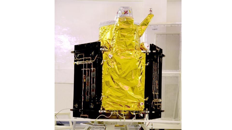 The primary satellite launched on February 15, 2017, is the Cartosat 2D series satellite.  Part of the Cartosat-2 Series, it has a mission life of five years.  (Isro.gov.in)