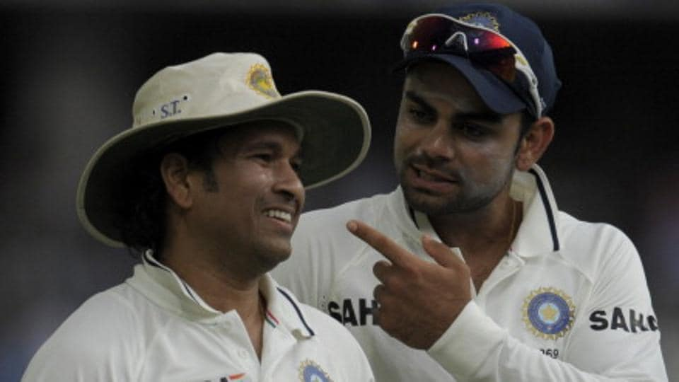 India cricket team skipper Virat Kohli's is on a hot streak and has been breaking one record after another and a mark set by the great Sachin Tendulkar is next.