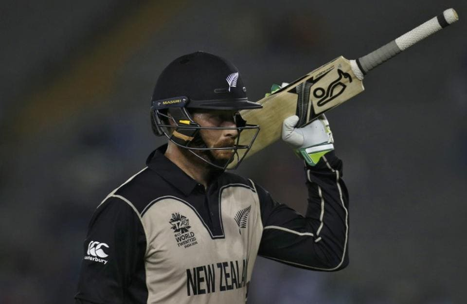New Zealand cricket team's in-form batsman Martin Guptill strained his hamstrig during training.