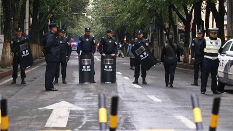 Xinjiang,China,Knife attack in China
