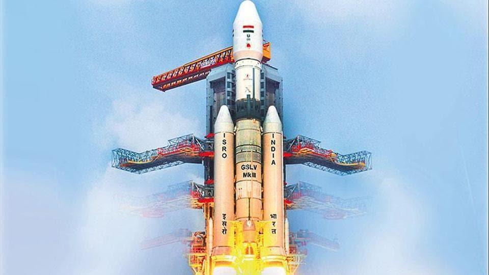 GSLV-Mk-III lifts off on its first experimental suborbital mission from Sriharikota on December 18, 2014.