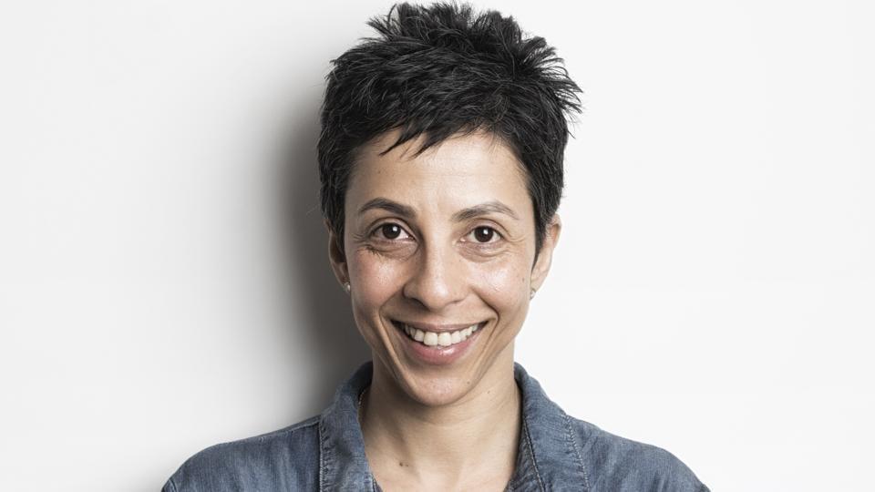 Comedian Radhika Vaz.