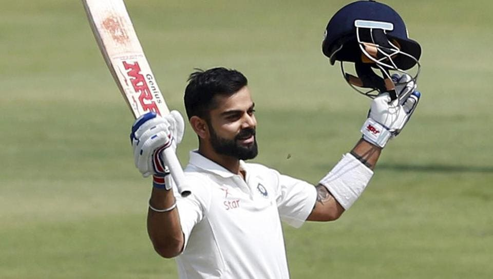 Virat Kohli had scored his fourth double century in as many series during the Test against Bangladesh in Hyderabad last week.