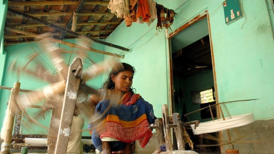 Kvic To Set Five Khadi Villages In Each Village To Boost