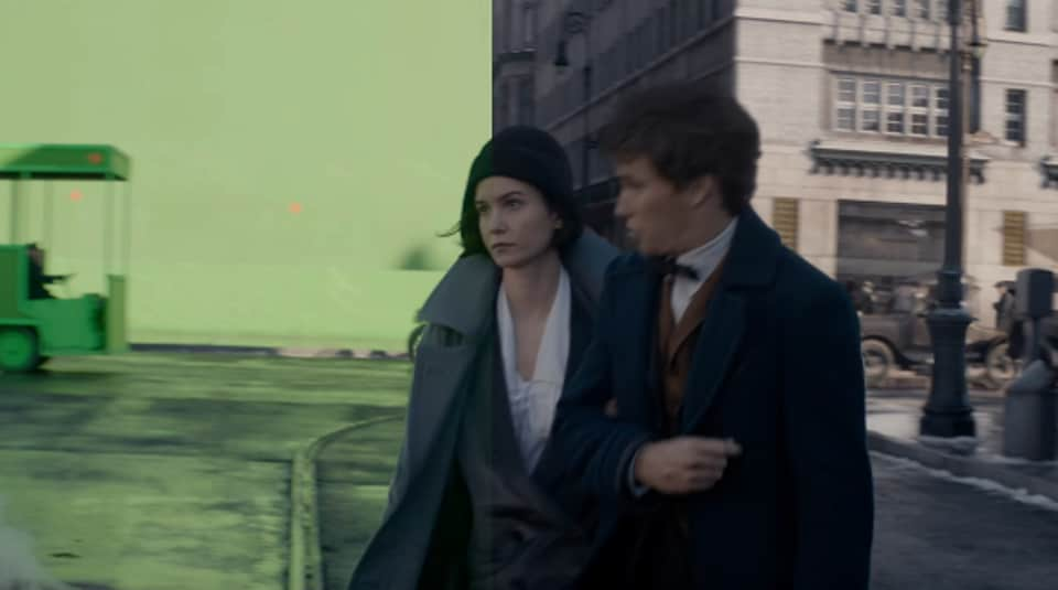 Fantastic Beasts,Fantastic Beasts and Where to Find Them,VFX