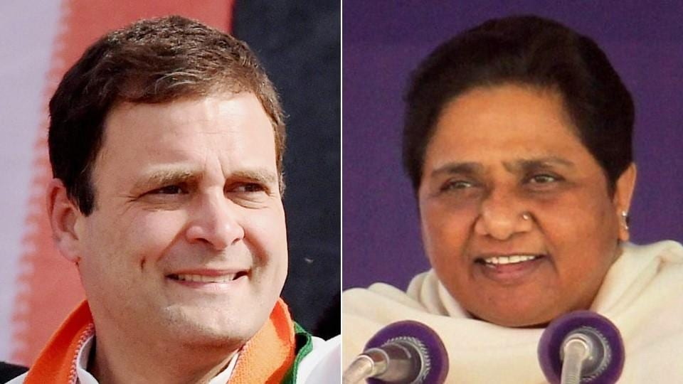 Congress' Rahul Gandhi and BSP's Mayawati addressed campaign rallied barely 15 km away from each other in Barabanki where a sizeable chunk of voters are Muslims.