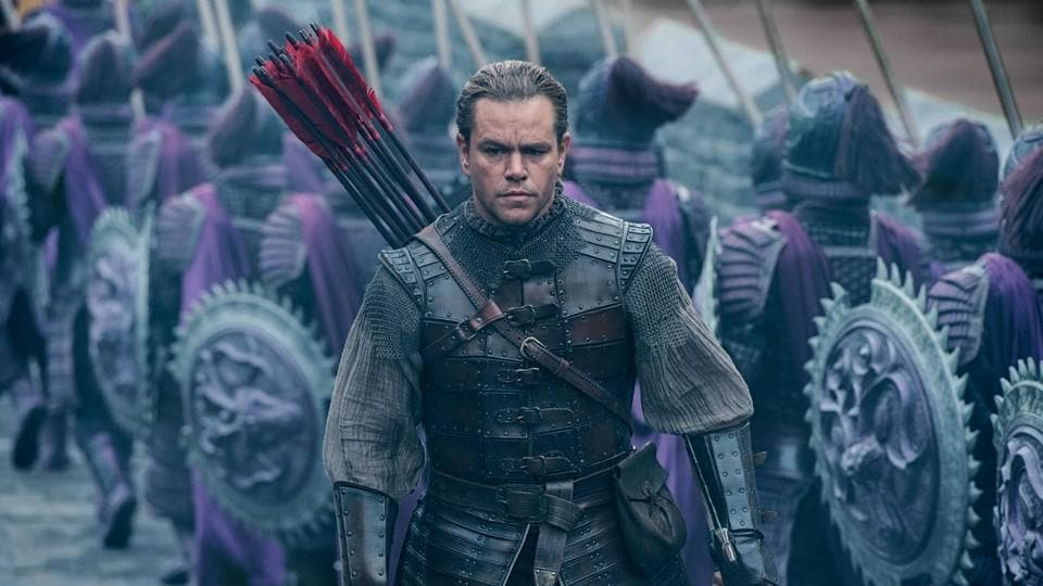 The Great Wall released in India in February.