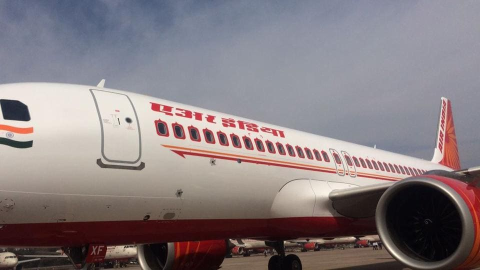 The A320 neo (new engine option) plane, inducted by Air India, has been leased from Kuwait's ALAFCO.