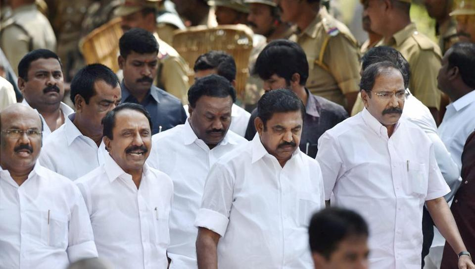 Amid Storm in Tamil Nadu Assembly, E Palanisamy Clears Trust Vote
