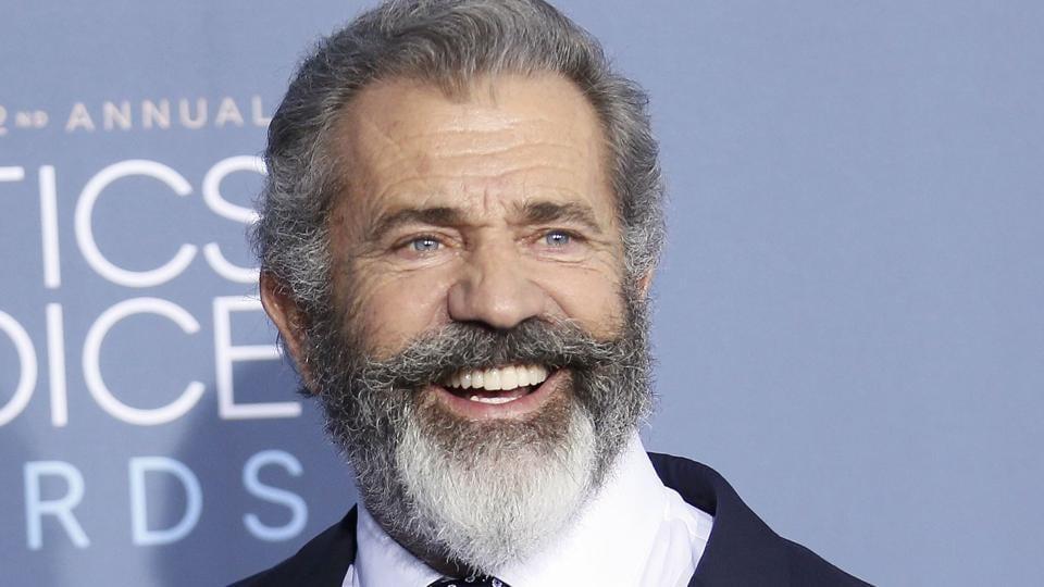 Mel Gibson arrives at the 22nd Annual Critics' Choice Awards in Santa Monica.