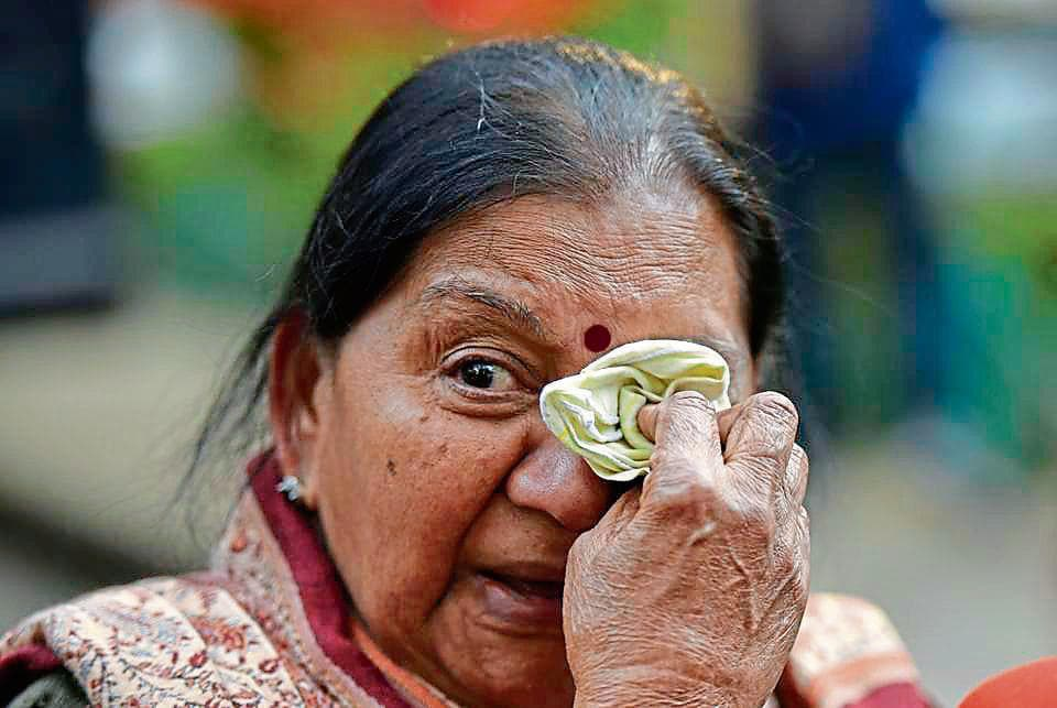 Saleena  Das who her son, daughter-in-law and grandson in the blasts.