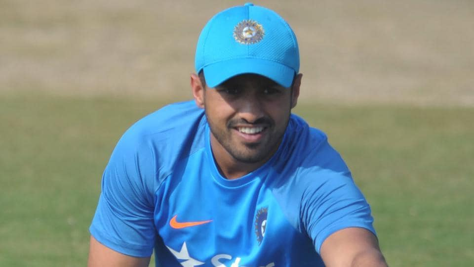 India batsman Karun Nair scored a triple century against England but didn't get to play the one-off Test against Bangladesh. He has been picked in the squad for the first two Tests against Australia.