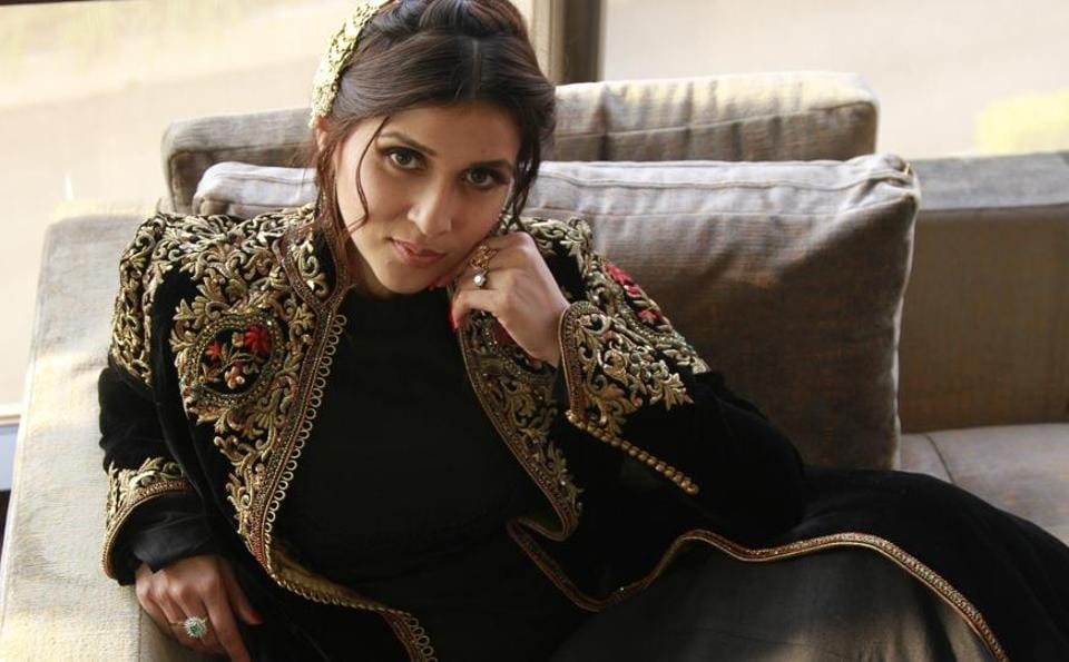 Actor Mannara Chopra gives style-inspo to all brides-to-be.