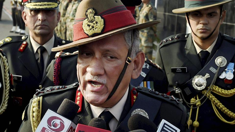 Army Chief General Bipin Rawat on Wednesday said that people interfering during anti-militancy operations in Jammu and Kashmir will be considered anti-nationals and will face action.