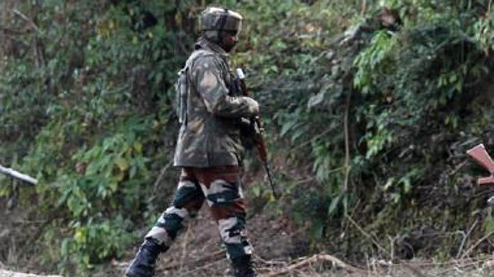 A soldiers reportedly committed suicide in Samba district of Jammu and Kashmir.
