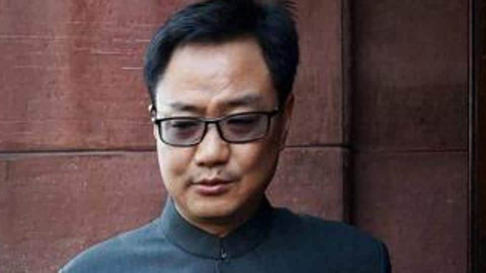 """MoS for Home Kiren Rijiju said, """"Whatever the Army Chief has said, he has said that in national interest. There is no need to misinterpret it. There is nothing wrong in the Army Chief's statement."""""""