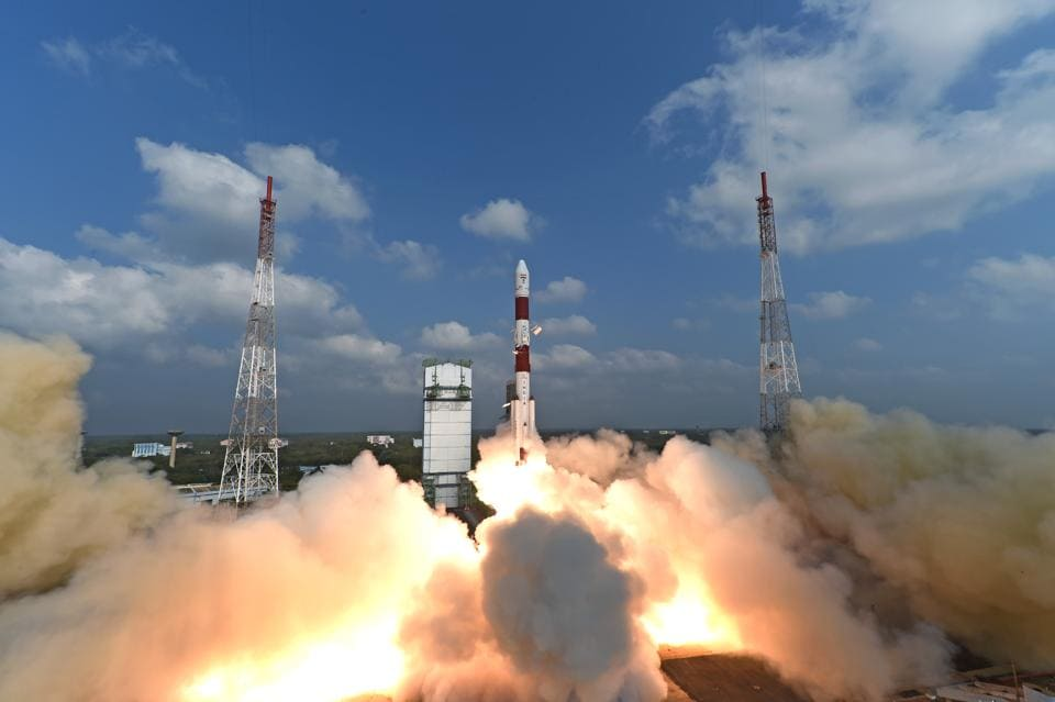 Indian Space Research Organisation successfully launched a record 104 satellites on Wednesday, leading foreign media to laud India as a key player in the space  market.