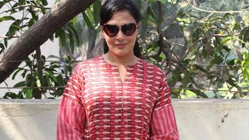 Richa Chaddha at a promotional event of an NGO Dhai Akshar, which works for unprivileged children.