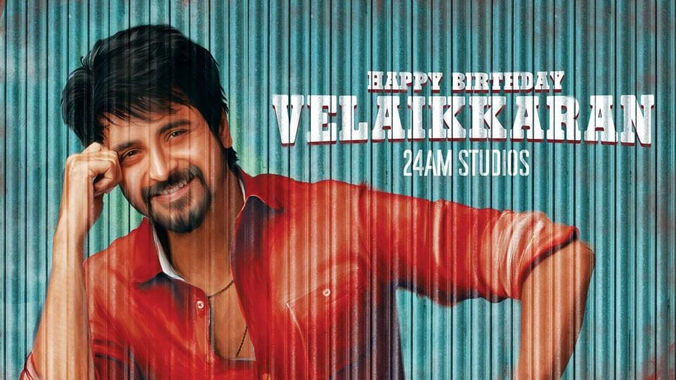 The makers from the film's studios shared pictures on Twitter on the occasion of Sivakarthikeyan's birthday on Friday.