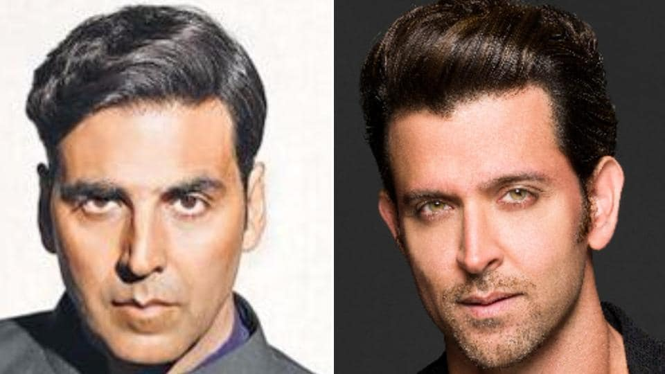 Rumours are rift that Akshay Kumar and HrithikRoshan might star together in a film. The duo are known to share a good camarderie.