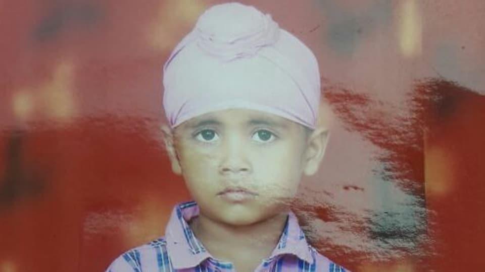 4-year-old Maninder Singh.