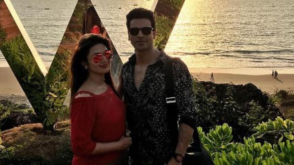 Checkout beautiful pics and lovely videos from Divyanka Tripathi and Vivek Dahiya's Valentine celebrations in Goa.