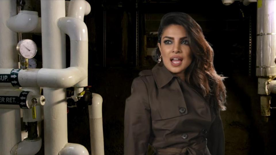 Priyanka Chopra is an evil German spy who is actually really nice.