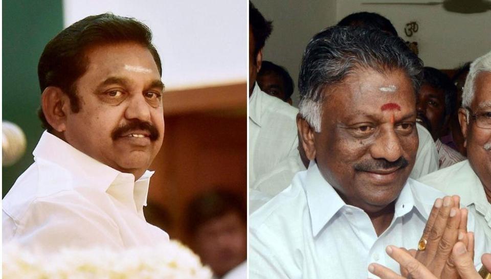 Tamil Nadu,Palaniswami,O Panneerselvam