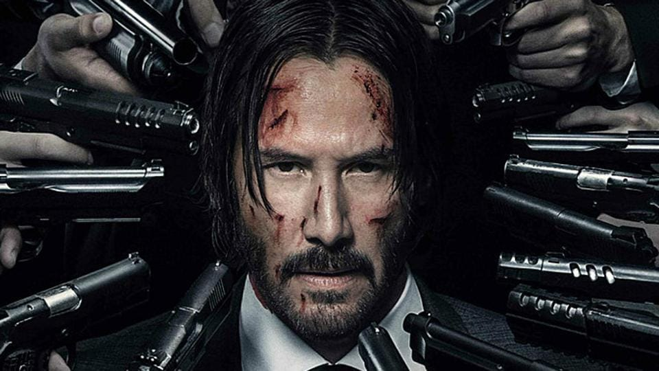 In John Wick Chapter two,  the hitman has a new dog, dresses in bespoke suits and is equipped with seemingly unlimited ammo.