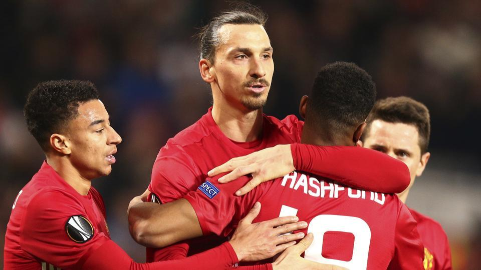 Zlatan Ibrahimovic,Edin Dzeko,Manchester United