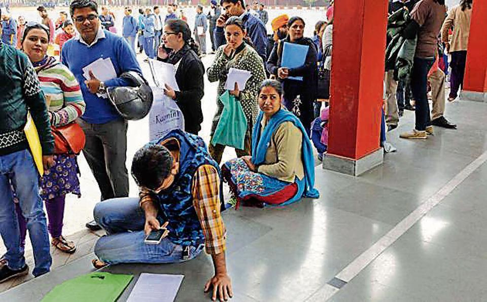 Chandigarh nursery admissions