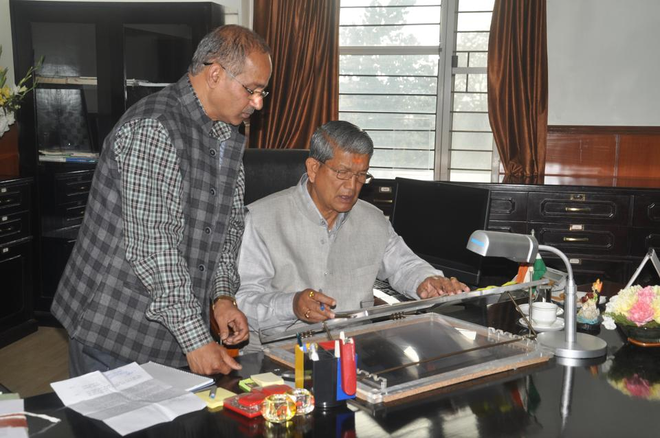 BJP's Uttarakhand president Ajay Bhatt accused chief minister Harish Rawat of taking important decisions days after the state went to polls on February 15 in violation of the poll code.