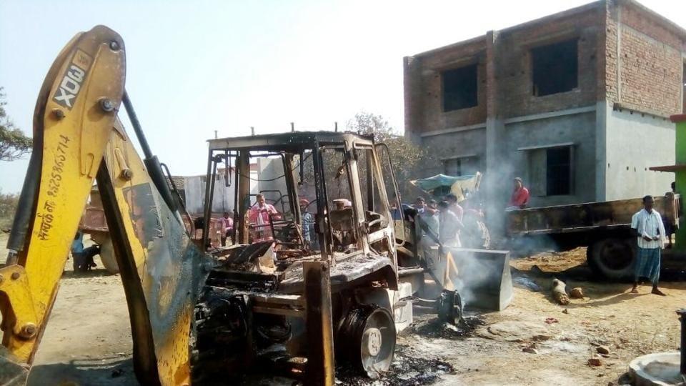 Maoist raid,road project,Satyajeet Kumar