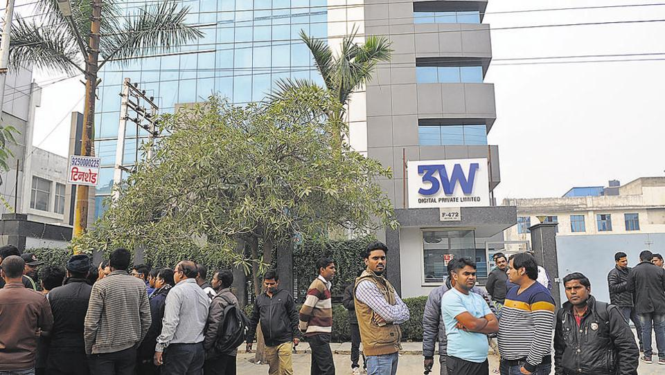After ablaze delhi based firms under sit scanner in noida for Architecture firms in sector 17