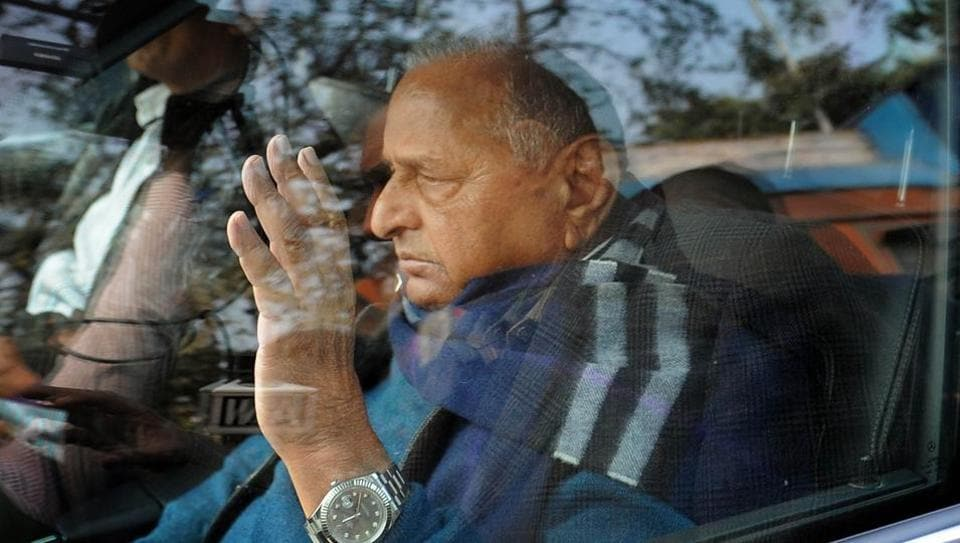 Samajwadi Party's (SP) Mulayam Singh Yadav, after a feud with his son, Akhilesh, has  lost out on leading the UPpoll campaigning.