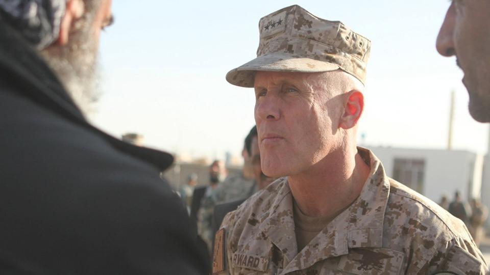 Vice Admiral Robert S Harward