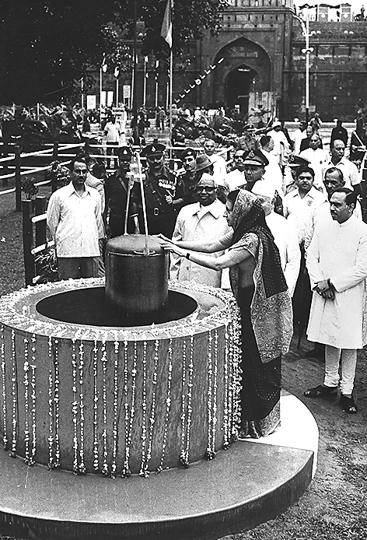 PGBhaskar's book sometimes mimics a time capsule; a book version of the one that Prime Minister Indira Gandhi embedded at Red Fort on 15 August, 1973.